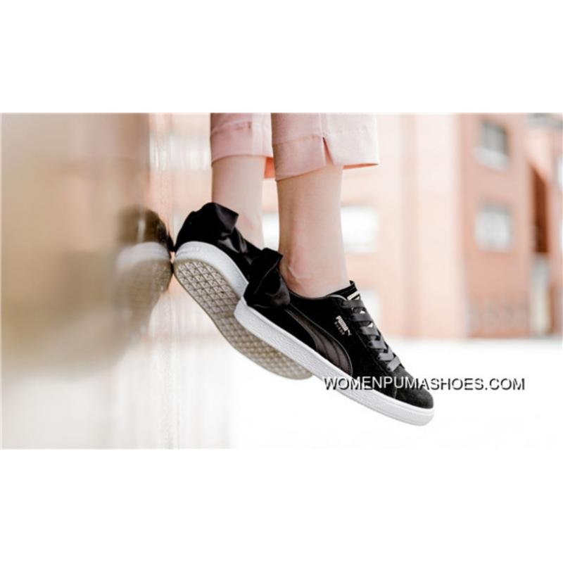 ... PUMA Suede Bow Which Women Bow Foot Casual Sneaker 367317-01-03-04 ... 6900d04c1