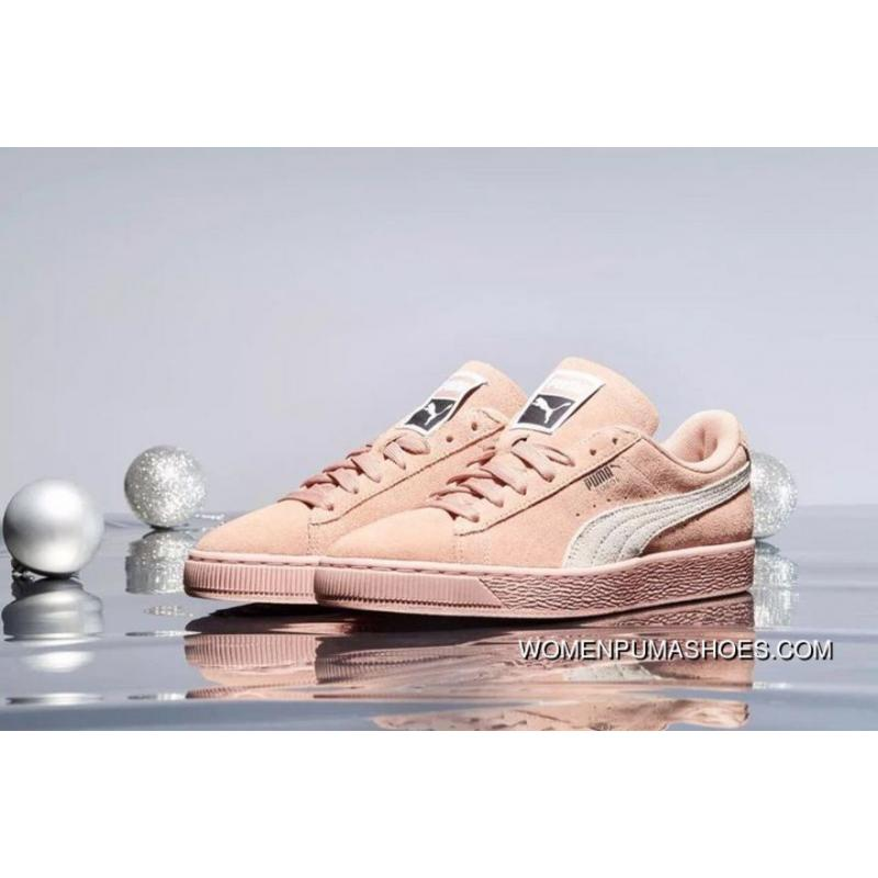 New Release PUMA Suede Classic 2018 Spring And Summer New Women Casual Sport Sneakers Women Less Pale Pink 355462 66
