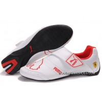 Womens Puma Baylee Future Cat Ii In White/Red New Year Deals
