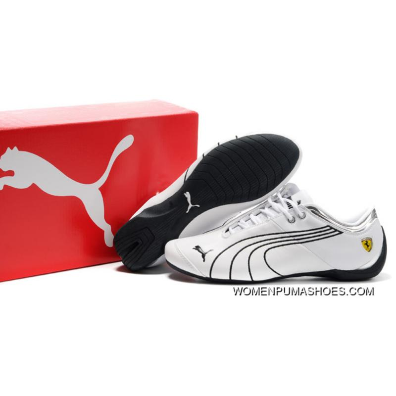 389ed2b2b7bf Ferrari Future Cat M1 Shoes White Black Online