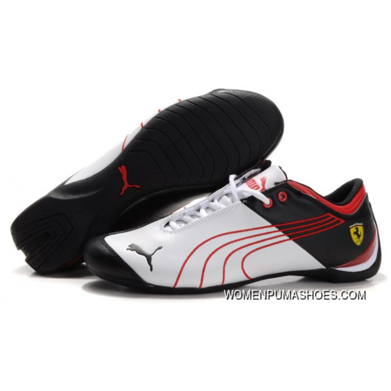 puma ferrari shoes white and red