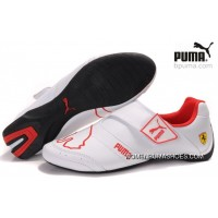 Puma Future Cat Baylee Shoes White/Red Discount