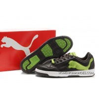 Puma Future Cat Lo Trainers Chocolate/Green Outlet