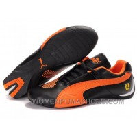 Womens Puma Future Cat Low Black Orange Shoes Free Shipping THTnz