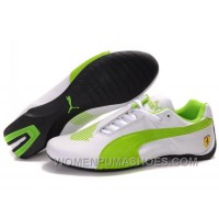 Womens Puma Future Cat Low White Green Shoes Cheap To Buy GtZnw