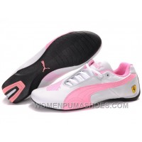 Womens Puma Future Cat Low Shoes White Pink For Sale ThmSz