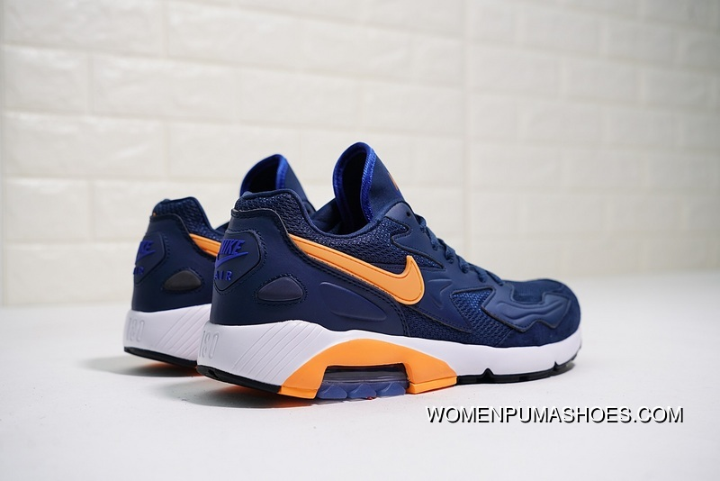 82e2763fbffbf Nike Air Max 180 OG 2104042-047 2018 Russia FIFA World Cup Sweden NAVY BLUE