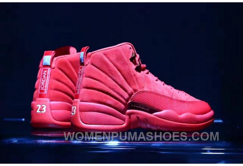 new product 9b476 6f4a0 Air Jordan 12 Red Suede 41-47.5 Authentic Christmas Deals
