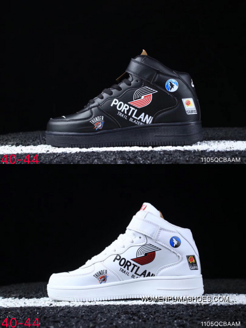 wholesale dealer 32515 7325c Nike Air Force One Supreme X NBA X 1 The Three Parties Collaboration Af1  Black White Graffiti Aq8017-001 Siz Best