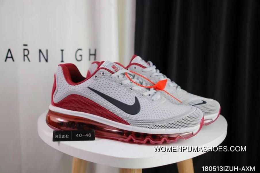 8f6b5a1219334a Nike Air Max 2017.5 40-47 Men Grey Red Top Deals