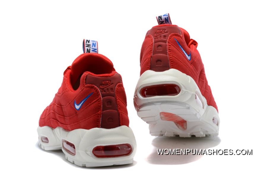Nike Air Max 95 TT Japan Limited Blue And White Red Sreet Retro Running Shoes AJ1844 101 600 002 Size Online