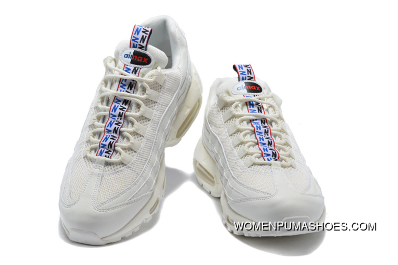newest 8b3f2 88441 4 Colorways Nike Air Max 95 TT Japan Limited Blue And White Red Sreet Retro  Running