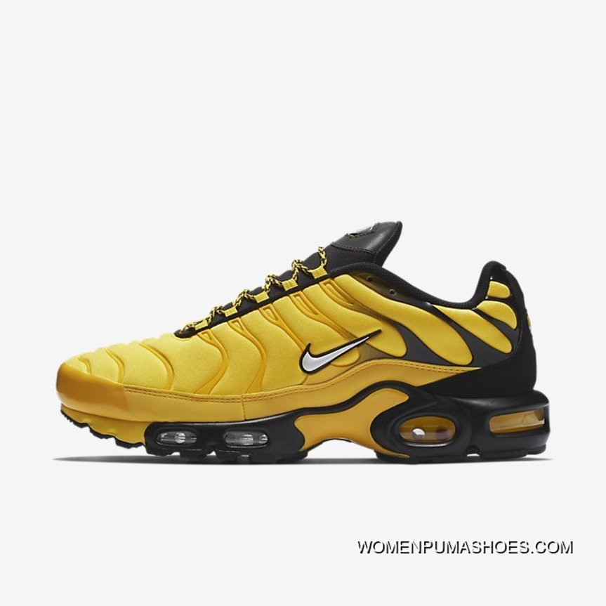 Nike Air Max Plus TN AIR MAX 95 Frequency Pack Men Running Shoes Limited AV7940 700 Men Yellow Black New Release