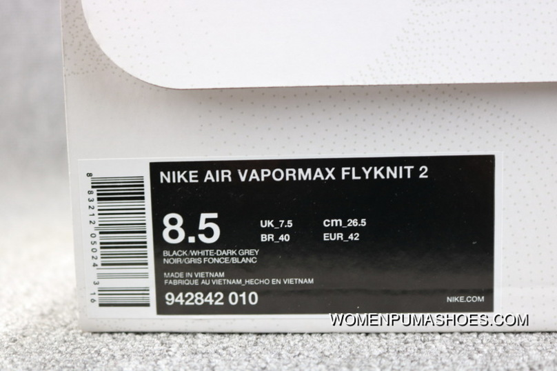 ba65489ee598a Nike Air VaporMax Flyknit 842842 010 2018 2.0 Zoom Air Women Shoes And Men  Shoes Outlet
