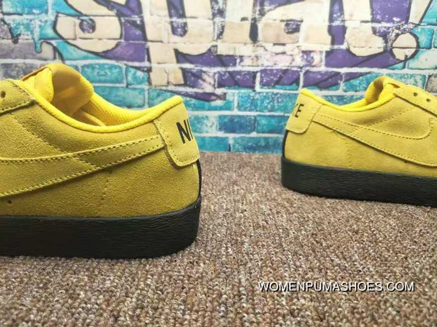 62b969244c18 Nike SB Zoom Blazer Low Umber Yellow Black Umber Yellow 864347-701 Best