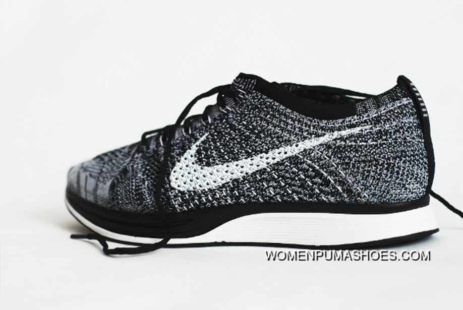 458e99c1bfd3 NIKE FLYKNIT RACER OREO 2.0 AGAIN 526628-012 New Year Deals