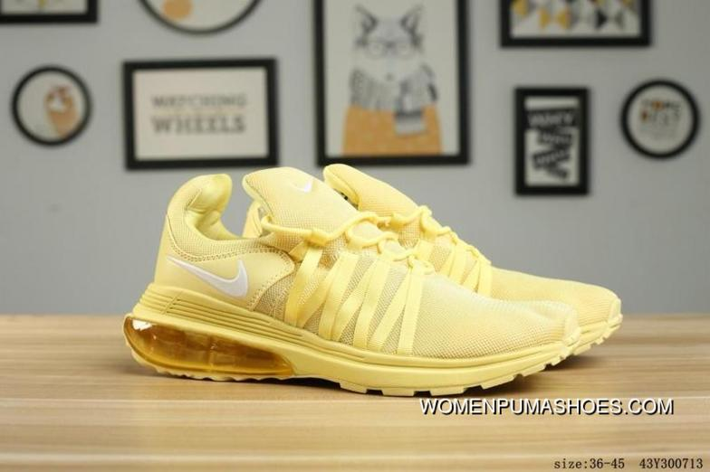 c32c954824e5a2 130 NIKE SHOX GRAVITY All Yellow New Release