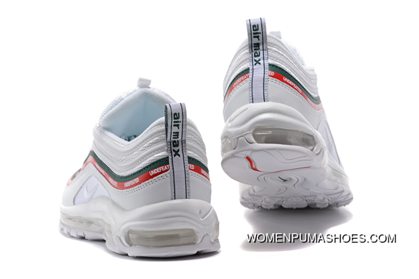 Undefeated X Nike Air Max 97 Og Sail And White Gorge Green Speed Red For Sale