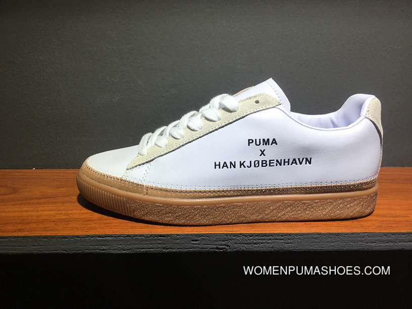 reputable site 51660 96a02 PUMA Clyde Stitched HAN 364474-01 Lastest