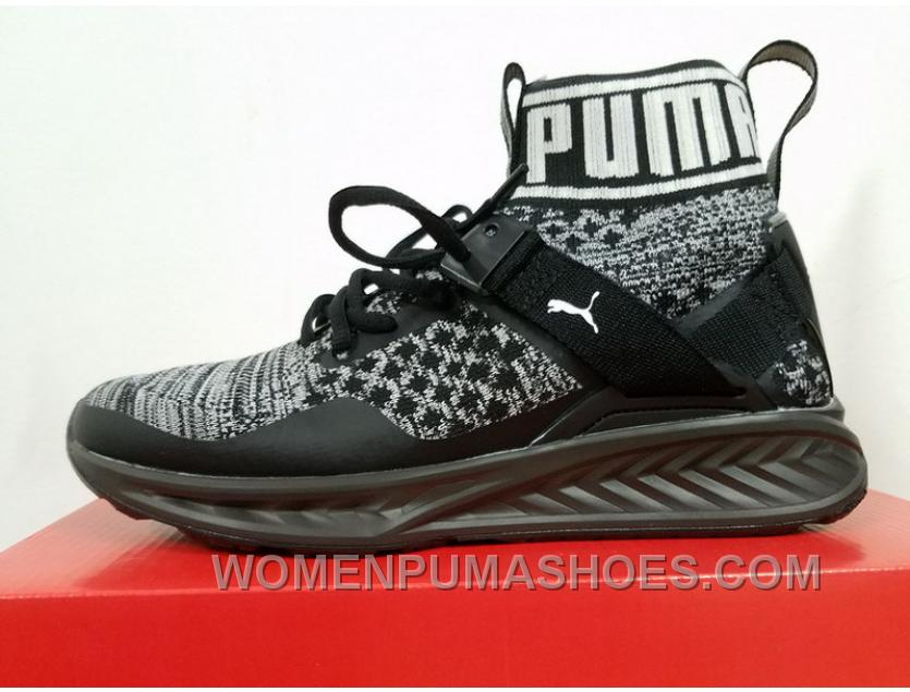 new styles 79f1c 75ea4 Puma Ignite EvoKnit All Black 189697-09 For Sale Fs8fB