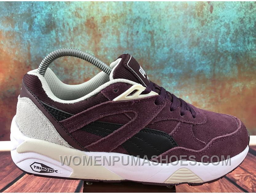 nouveau produit 39e09 cc3f5 Puma R698 Remaster 36--44 Men Women Burgundy Red Top Deals RFbXf