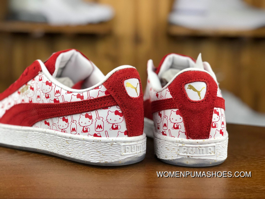 finest selection 45726 bc721 Puma X 180 Hello Kitty Collaboration Hello Kitty Women Casual Shoes  Sneakers 366306-01 Size New Year Deals
